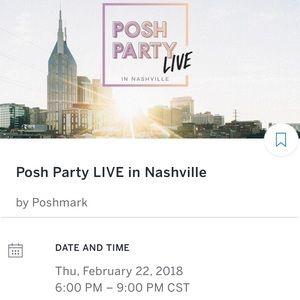 POSH PARTY LIVE